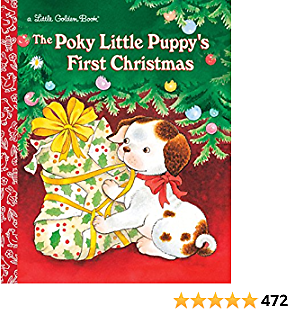 The Poky Little Puppy's First Christmas Book