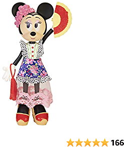 Disney Minnie Mouse Doll Trendy Traveler Deluxe Fashion Doll