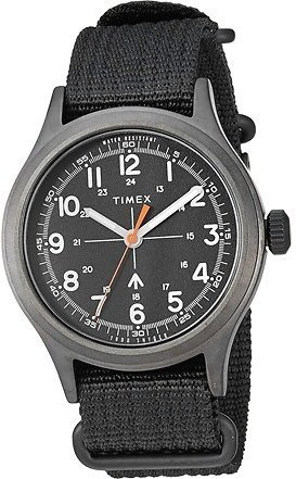 Timex X Todd Snyder Military Inspired Fabric Watch with Extra Strap TWG0176007S
