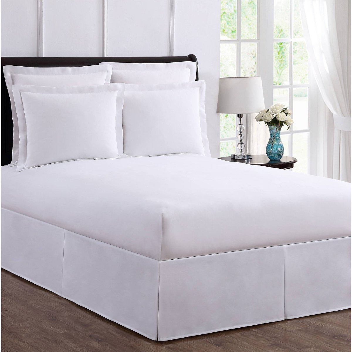 Levinsohn Bed Maker's Wrap-Around Tailored Bedding Bed Skirt