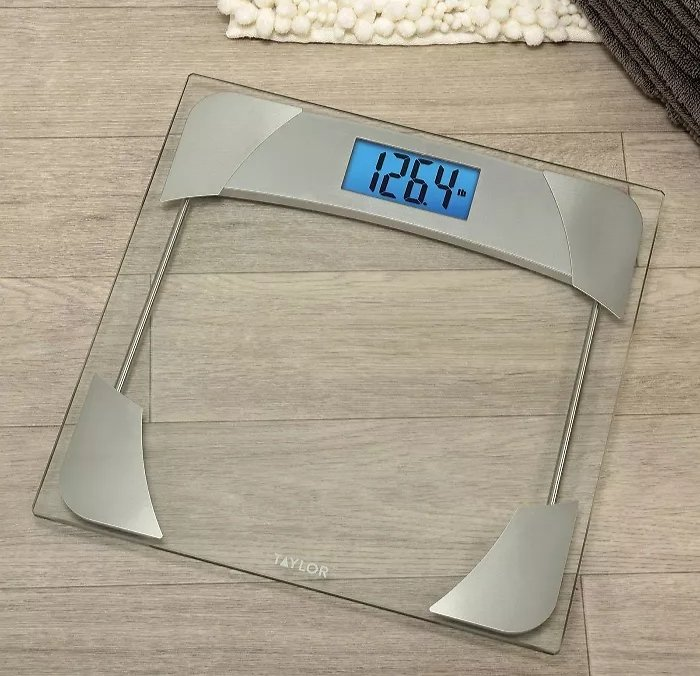 Taylor Digital Bathroom Scale with Weight Tracker