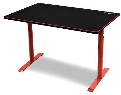 Arozzi Arena Leggero Compact Gaming Desk - Red - Sam's Club
