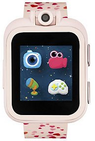 ITouch PlayZoom Blush Smartwatch for Kids with Hearts Print 42mm & Reviews - Watches - Jewelry & Watches