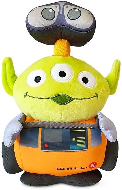 Toy Story Alien Pixar Remix Plush – WALL•E – 9'' – Limited Release | ShopDisney