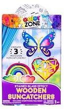 Color Zone® Wooden Suncatchers Stained Glass Effect Kit
