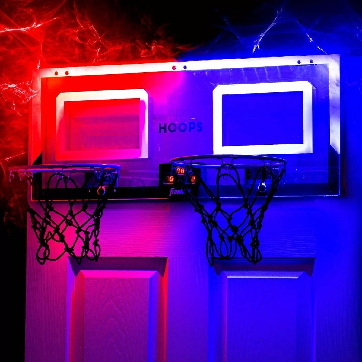 Franklin Sports Pro Hoops LED with Basketball - 2pc