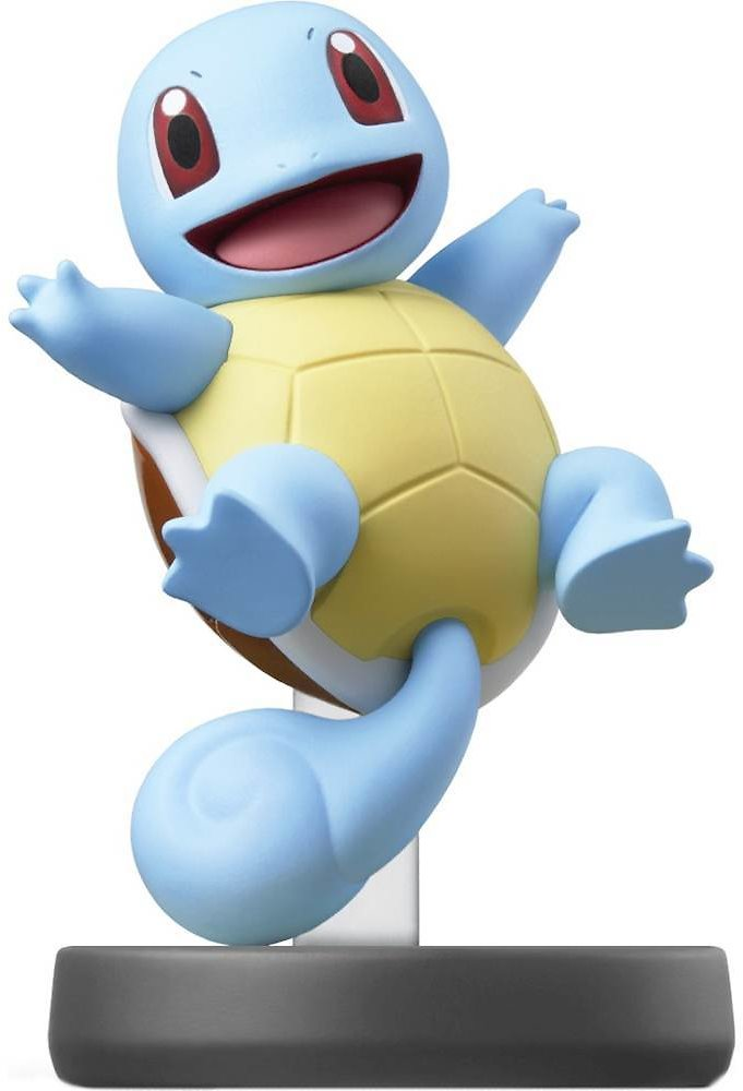 Nintendo Amiibo Figure (Squirtle Super Smash Bros. Series)