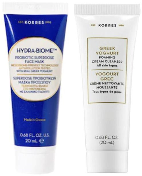 New! Korres 2-piece Cleanse and Nourish Set