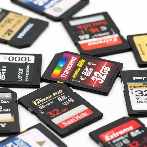 Up to 60% Off Memory Cards!