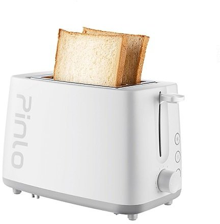 Pinlo Toaster PL-T075W1H Bread Toast Machine Fast Safety Breakfast Mini Sandwich Maker