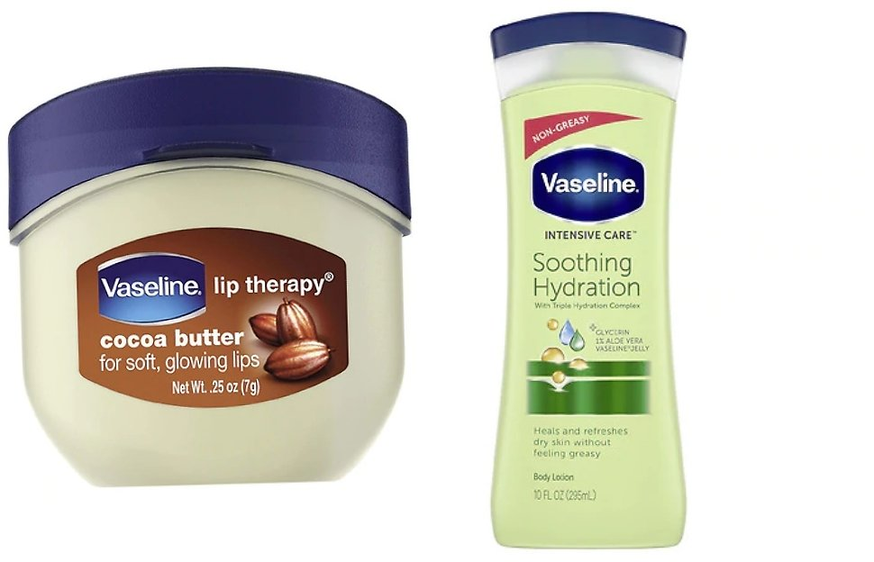 Buy 2, Get 1 Free Vaseline Products