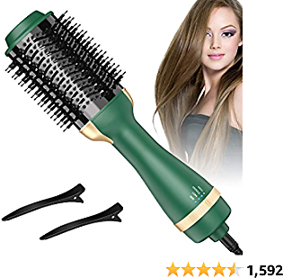 (50% OFF) Hot Air Brush & Dryer Brush One Step Hair Dryer
