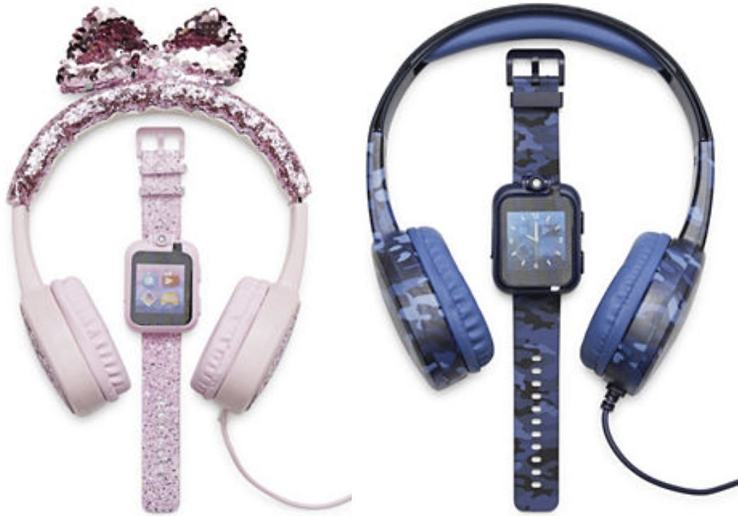 Kids' itouch Playzoom Bundle Smart Watch with Headphones