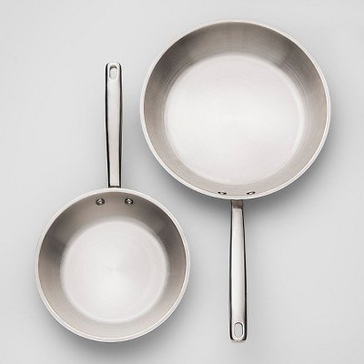 Stainless Steel Frypan 2pk - Made By Design™