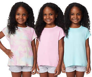 32 Degrees Cool Youth 3-pack Tee (Pink/Purple)