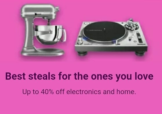 Up to 40%Off