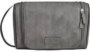 Perry Ellis Men's Hanging Shave Kit in Gray