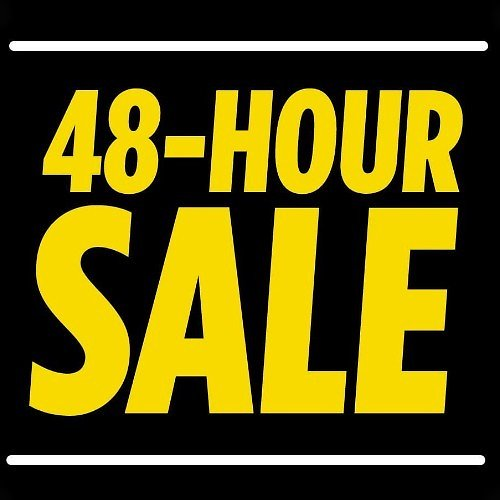 Up to 70% Off 48-Hour Sale + Extra 10% Off