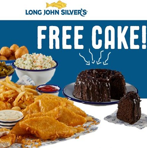 Free Cake W/P Of A 10pc. Family Meal Or Larger