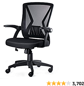 (50% OFF) KOLLIEE Mid Back Mesh Office Chair Ergonomic