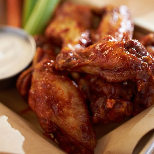 "Free Wings for America If The ""Big Game 2/2"" Goes to OT ( 2/17 from 4-7 P.m.)"