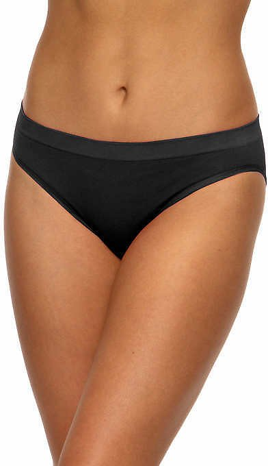 5 Pack Black Bow Ladies' Seamless Bikini