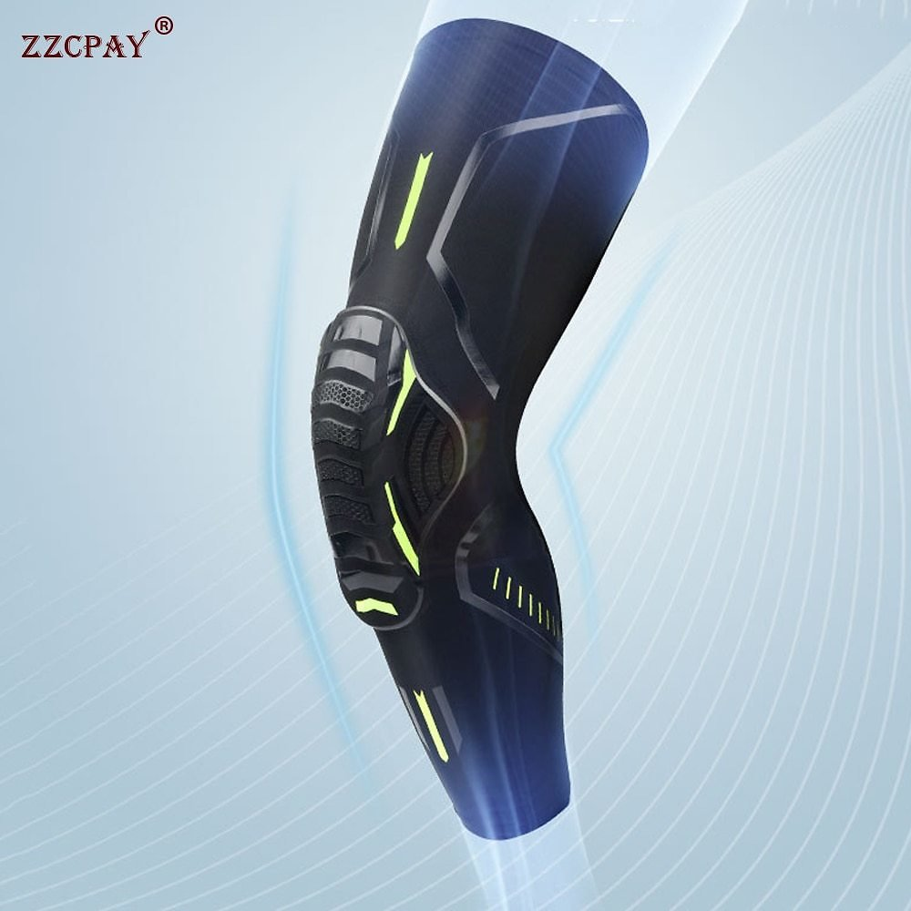 2021 New Adult Knee Pads Bike Cycling Protection Knee Basketball Sports Knee Pads Brace Knee Leg Covers Anti-collision Protector