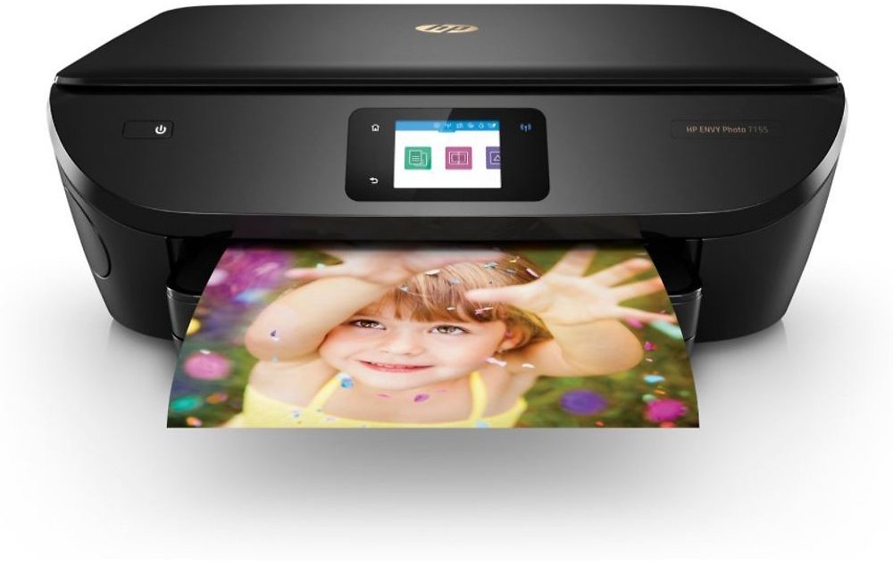 HP ENVY Photo 7155 All-in-One Printer with Wifi and Mobile Printing (Certified Refurbished)