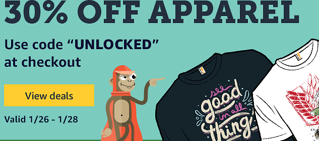 30% Off Apparel Sale - Woot