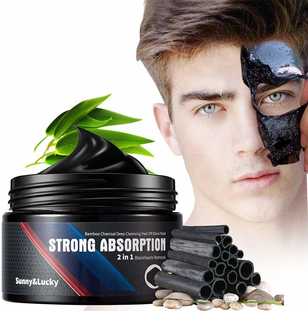 Blackhead Remover Mask for Men, Purifying and Deep Cleansing for All Skin Types