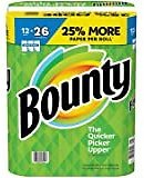 Bounty Select-a-Size Paper Towels, White, 12 Huge Rolls = 26 Regular Rolls: Health & Personal Care