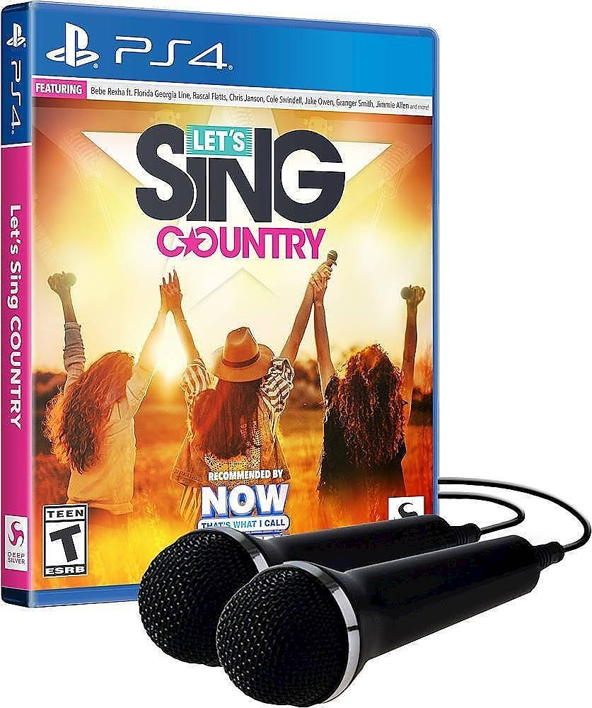 Let's Sing Country Bundle Standard Edition - PlayStation 4, PlayStation 5