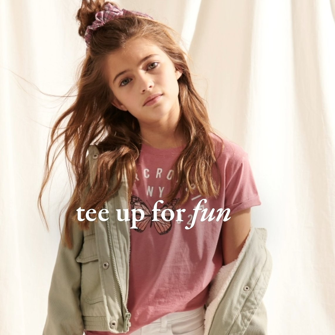 Limited Time! Clearance Up to 50% Off + Take An Extra 15% Off - Abercrombie Kids