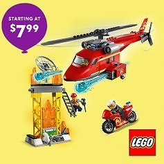LEGO From $7.99