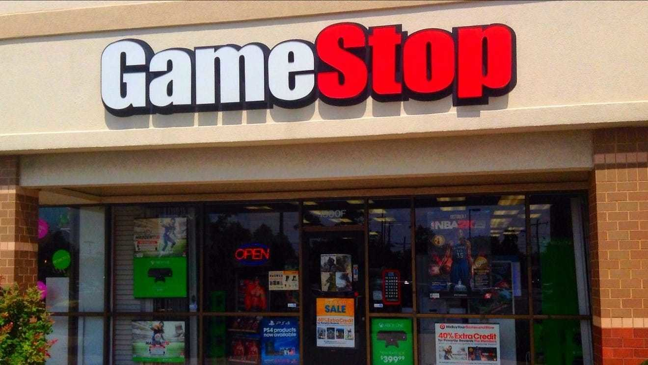 GameStop Soars As Smaller Investors Face Down Hedge Funds