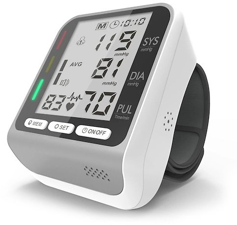 JZ-253A Automatic Smart Wrist Electronic Blood Pressure Monitor with Voice Broadcast