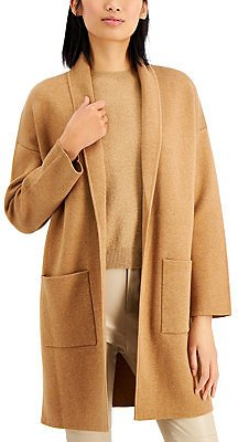 Alfani Open Front Patch Pocket Cardigan, Created for Macy's & Reviews - Sweaters - Women