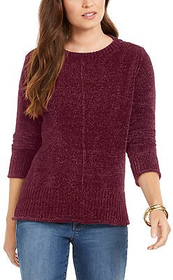 Style & Co Chenille Pullover Sweater, Created for Macy's & Reviews - Sweaters - Women