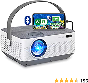 Save 37% + Free Delivery - Rechargeable Portable Home Projector