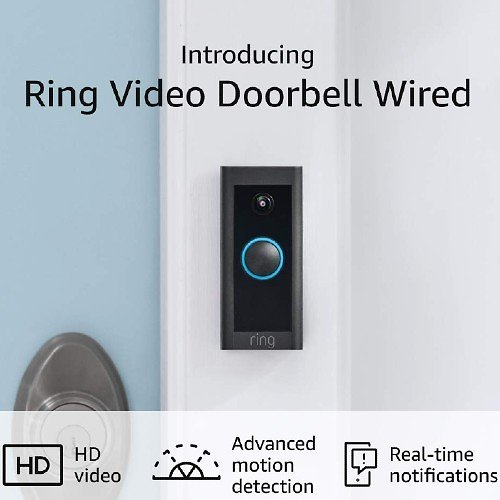 New Ring Video Doorbell Wired (2021 Release) Live!