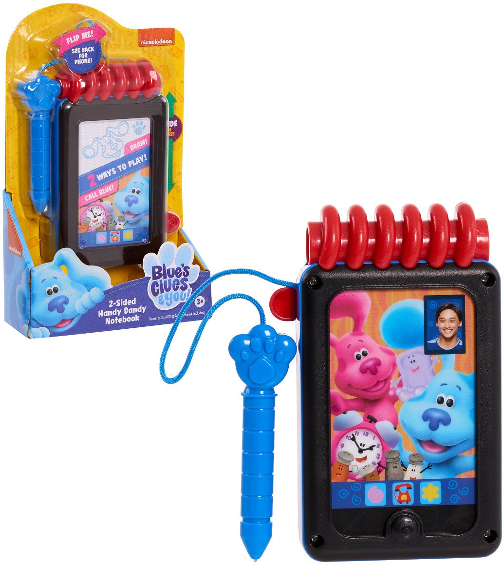 Blue's Clues & You! 2-Sided Handy Dandy Notebook, Ages 3 +