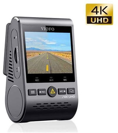 VIOFO A129 Pro 4K UHD 2160p Dual Band Wi-Fi Front Dash Camera with GPS Module