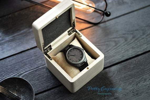Engraved Watch, Wooden Watch, Mens Gift, Personalized Watch, Personalized Mens Watch, Engraved Wood Watch, Mens Watch, Gifts for Him