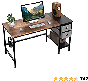 Office Desk, Computer Desk with Drawers 47