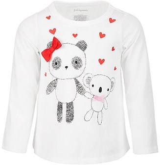 First Impressions Baby Girls Panda & Koala Cotton Top, Created for Macy's & Reviews - Shirts & Tops - Kids