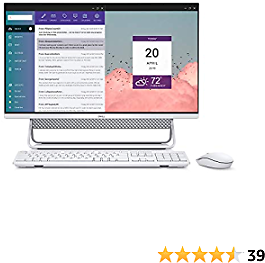 Dell Inspiron 7700 AIO, 27-inch FHD Infinity Touch All in One - Intel Core I7-1165G7, 12GB 2666MHz DDR4 RAM, 1TB HDD + 256GB SSD, Iris XE Graphics, Windows 10 Home - Silver (Latest Model)