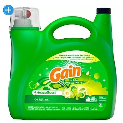 Gain + AromaBoost Ultra Concentrated Liquid Laundry Detergent, Original (146 Loads, 200 Fl. Oz.) - Sam's Club