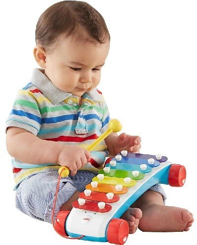 Fisher-Price Classic Xylophone Musical Pull Toy