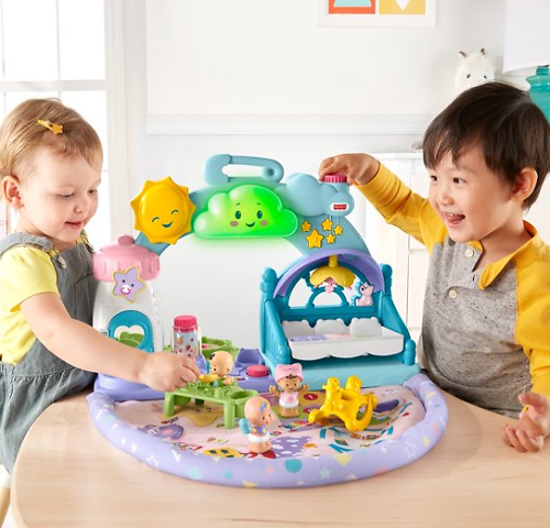 Little People 1-2-3 Babies Playdate Musical Doll Playsets