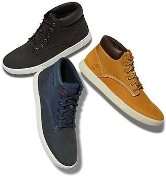 Timberland Men's Groveton Chukka Sneakers, Created for Macy's & Reviews - All Men's Shoes - Men